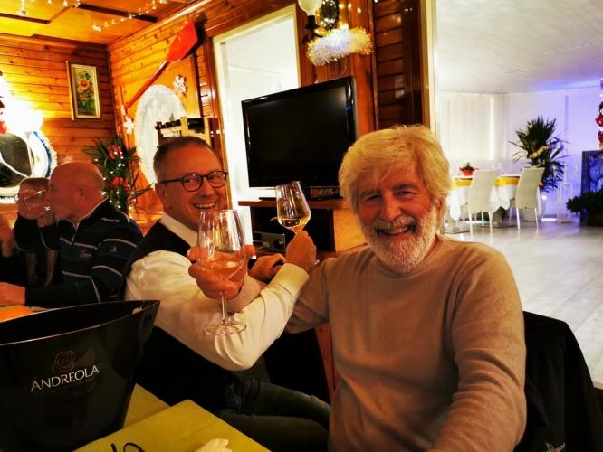 Cena sociale di Jesolo Yacht Club con la partecipazione della presidenza del Treviso…
