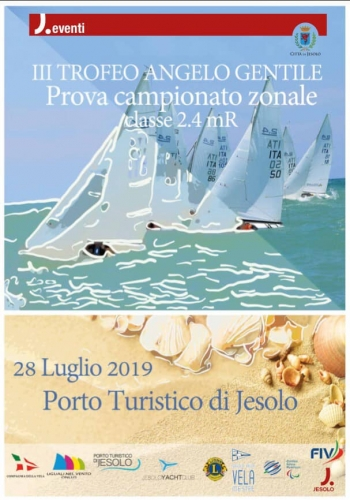 """Domenica 28 luglio si svolgerà il """"III Trofeo Angelo Gentile"""", la regata con la qual…"""